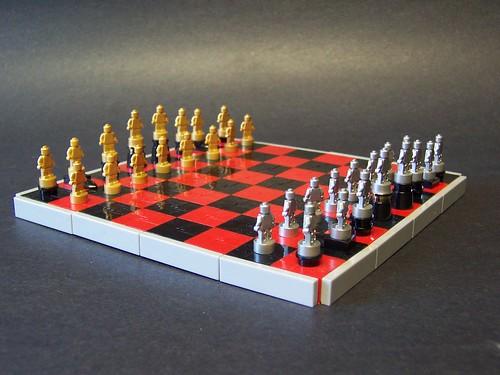 Lego micro-chess