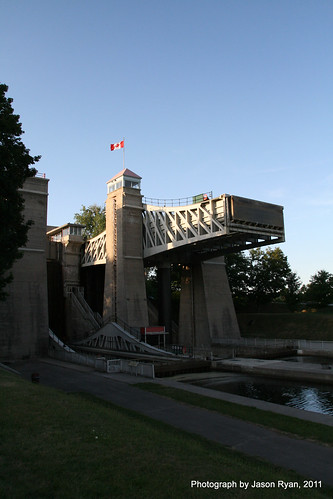 Peterborough Lift Lock Area (1) by The Fractured Idealist