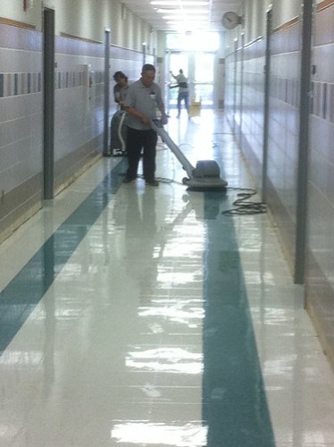 07.26.2011 Mopping in progress