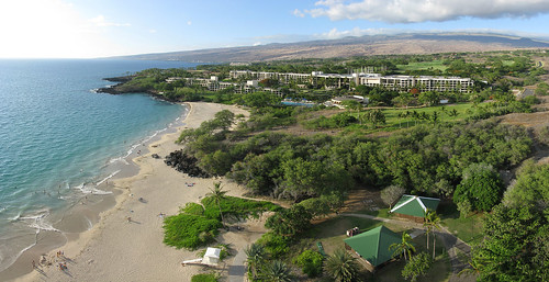 Hapuna Beach State Park and Hapuna Prince Resort
