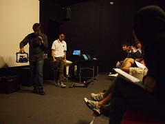 Jonathan Qidi Goh and Nicholas Chee, Film-making Workshop by Sinema, ciNE65