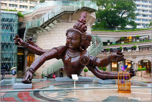 Giant Buddha Sculpture in Hong Kong by davidyuweb