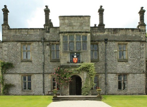 The venue: Tissington Hall, Derbyshire