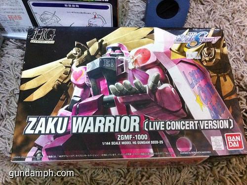 HG 144 Zaku Warrior Live Concert Version (2)
