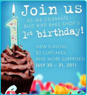Blue Bird Bake Shop Birthday