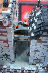 AFOL Castle Display Case - LEGO Booth at Comic Con - 8