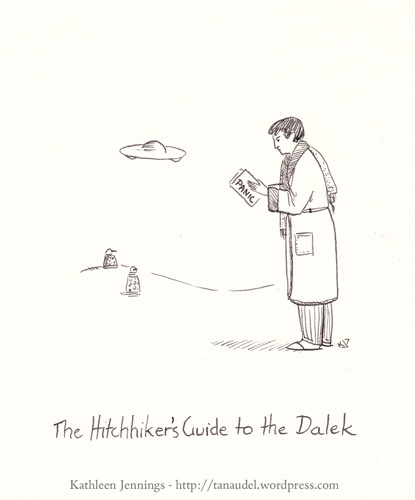 The Hitchhiker's Guide to the Dalek