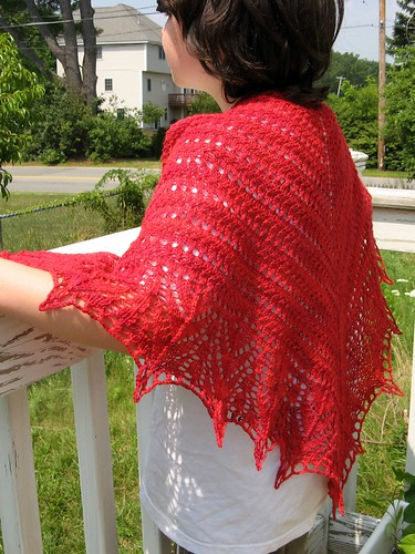 2547 Red Seas Shawl