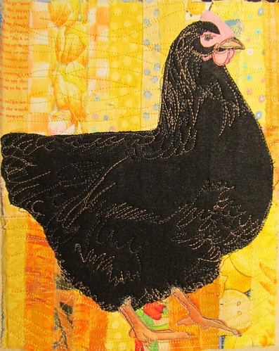 black Jersey Giant hen
