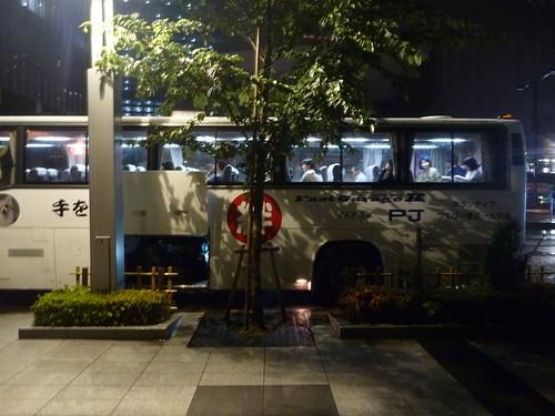 「手を貸すぜ 東北」号, 陸前高田へのボランティアバス Japan Quake Volunteer Bus to Tohoku (northeastern) region