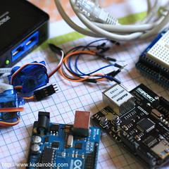 Kendail Arduino Via Ethernet WIFI