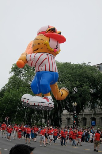 Garfield the Cat Parade Float
