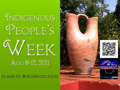 Indigenous People's Week August 8-12