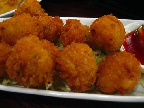 Crab Shrimp Balls (closer)