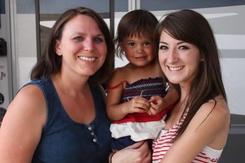 Jada, Kaidence and Jenna.