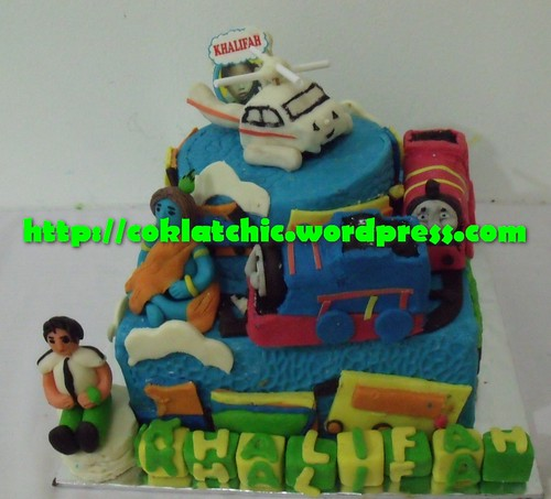 Cake Krisna, Thomas, dan Ben10