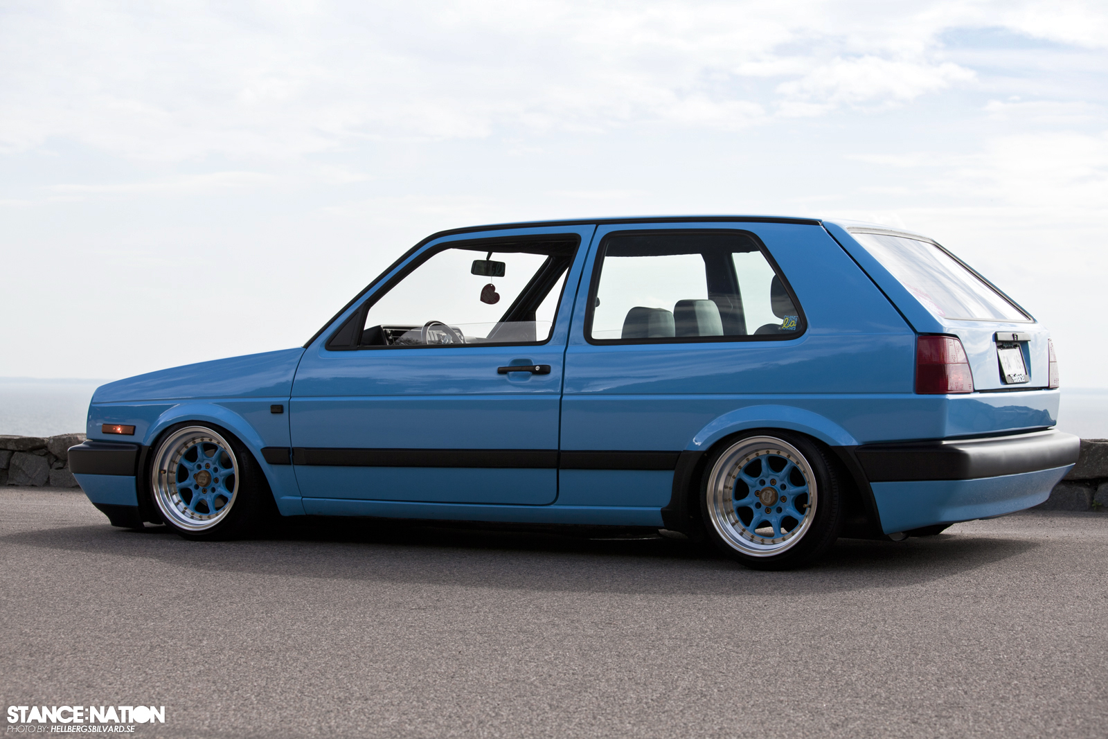 My Golf Mk2 The Blue Bomber Heater Core Replaced