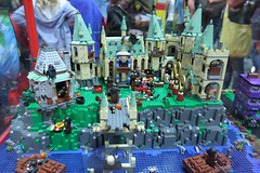 Harry Potter Display Case: - LEGO Booth at Comic Con - 2