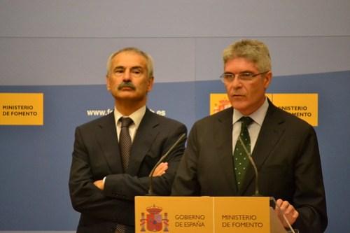 Manuel Amejeiras e Isaías Táboas