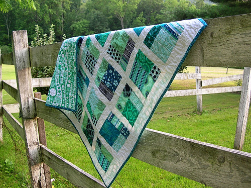quilt on the fence