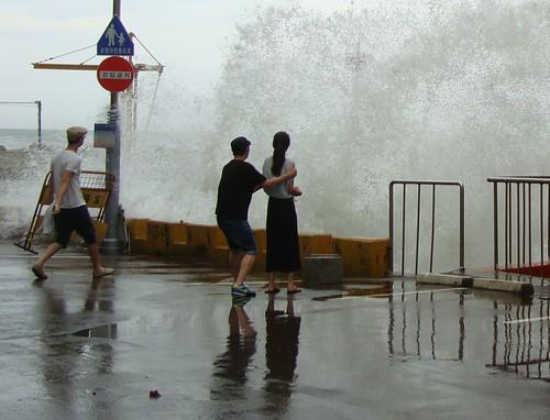 Taifun Muifa by Jens-Olaf