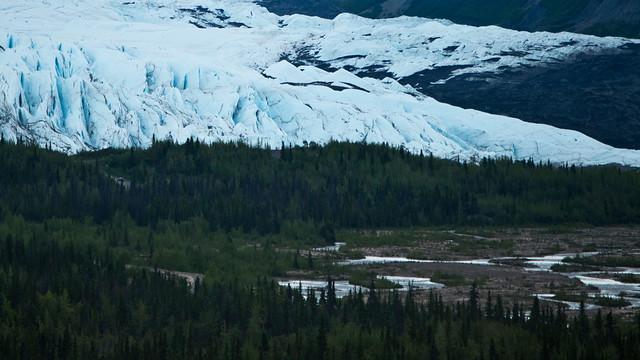 Matanuska Glacier and River
