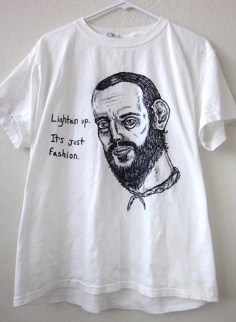 lighten up it's just fashion