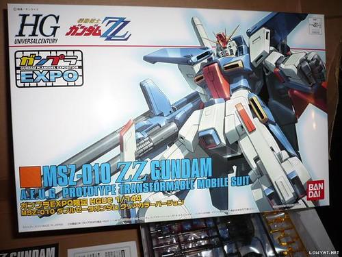 ZZ Gundam {Expo 2010 Clear} (2)