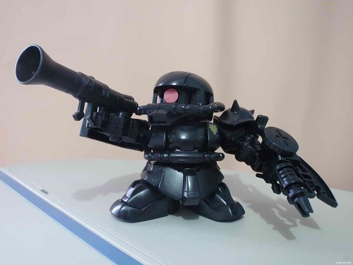 SD2009 Zaku-II {Ecopla Black-Limited GreenProject} (2)