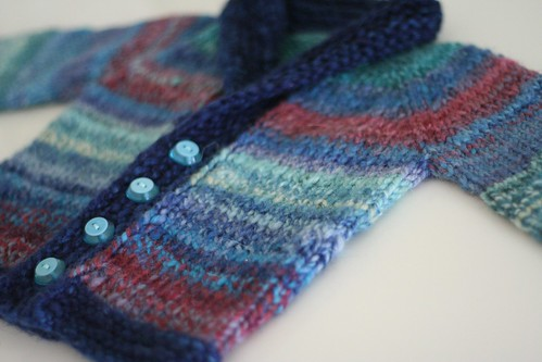 knitted :: Handspun Baby Sophisticate
