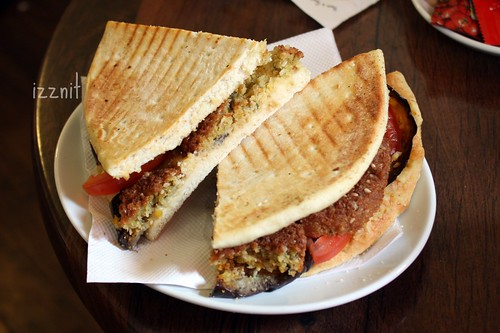 Falafel Sandwich!