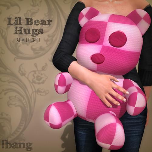 Lil Bear Hugs - Gacha Prize Ad