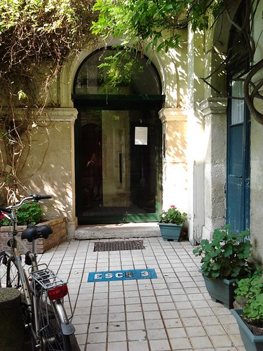 Paris courtyards