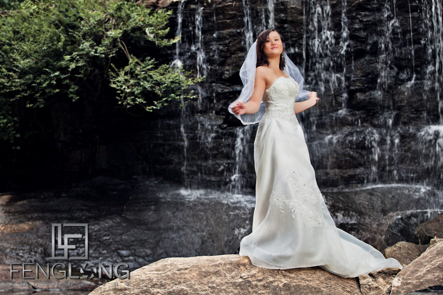 Bridal Glamour Session with Tina | Life University | Marietta Chinese Wedding Photographer