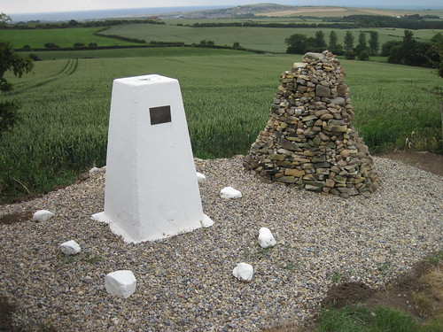 Ironstone Miners Memorial, Trig Point, Great Charles Hill, Stanghow