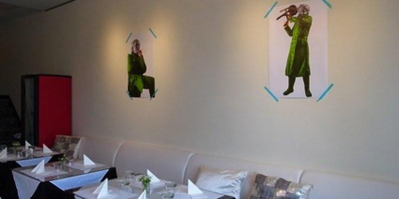 【餐廳】台南is義式藝術餐廳:「美迪奇與阿古力巴」展覽(6.10ys)