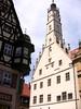 Rothenburg ob der Tauber - Der gotische , 60 m hohe Rathausturm  - 63 by roba66