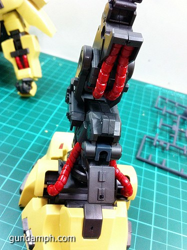 MG The-O PMX-003 Review OOB Build (35)