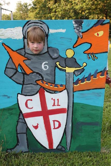 Sir Clark Slew the Dragon