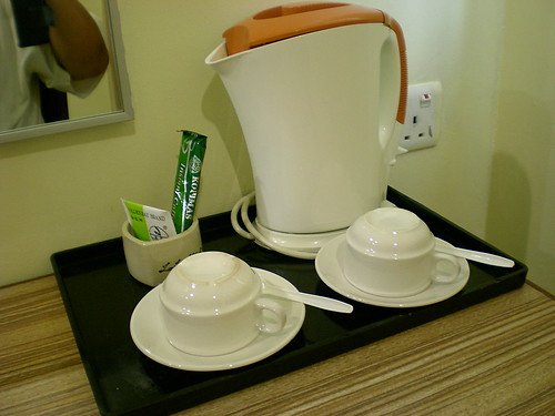 Medan Hotel coffee & tea making facilities