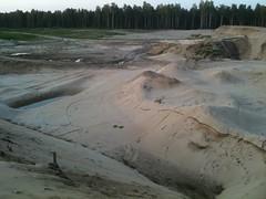 Kopalnia piasku w Lasach Nieporęckich by Polek