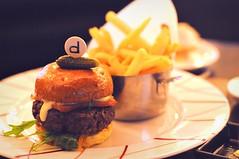 Yankee burger, DB Bistro Moderne, Marina Bay Sands, Singapore