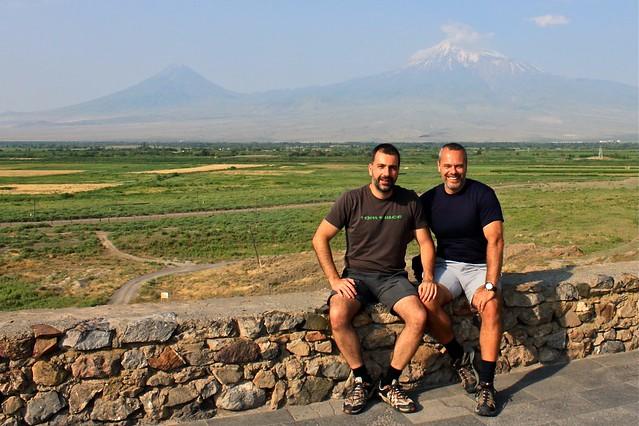 Marc et moi... et Ararat, Arménie