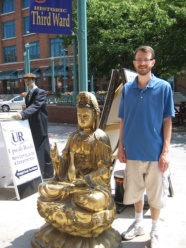 Craig and buddha