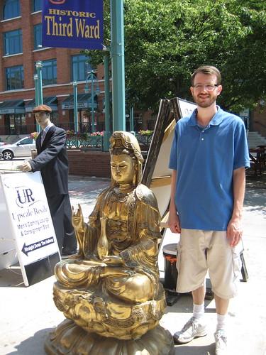 Craig and buddha