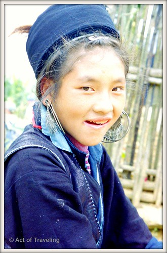 Hmong girl in Sapa