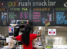 Rush Snack Bar opens, offers commuters healthy, affordable ...