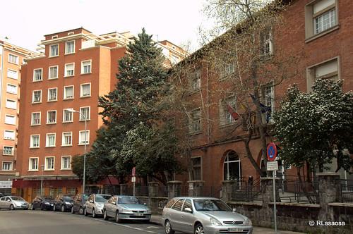 Edificios de en la calle González Tablas de Pamplona.