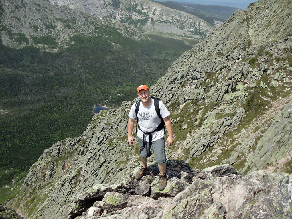 Hike the Katahdin Knife Edge Trail in Baxter State Park, Maine