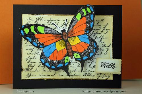 HeroArts - July2011B - Butterfly DIGITAL by kimba7669